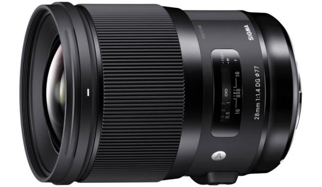 Sigma 28mm f/1.4 DG HSM Art objektiiv Canonile