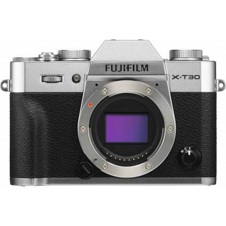Fujifilm X-T30 kere, sudrabots
