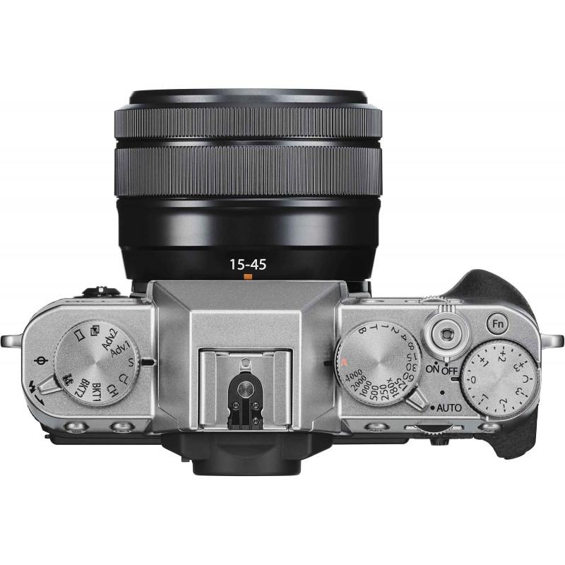 Fujifilm X-T30 + 15-45mm Kit, hõbedane