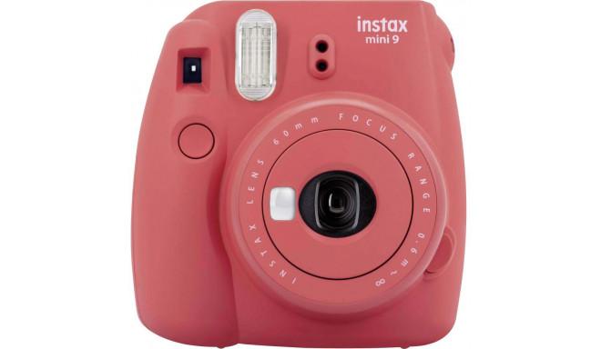 Fujifilm Instax Mini 9, poppy red + Instax Mini paper