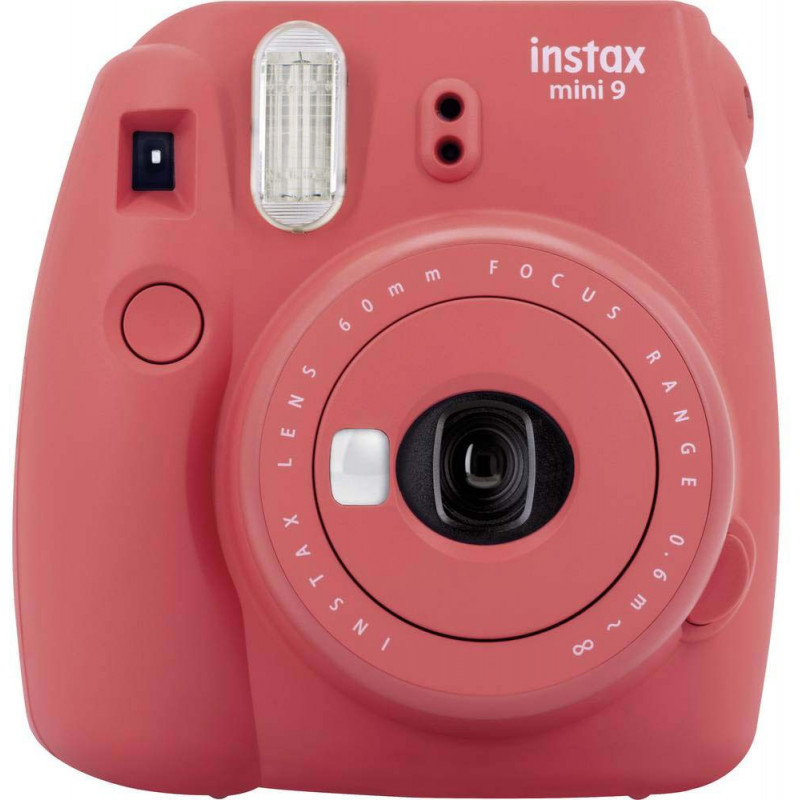 Fujifilm Instax Mini 9, poppy red + Instax Mini paber