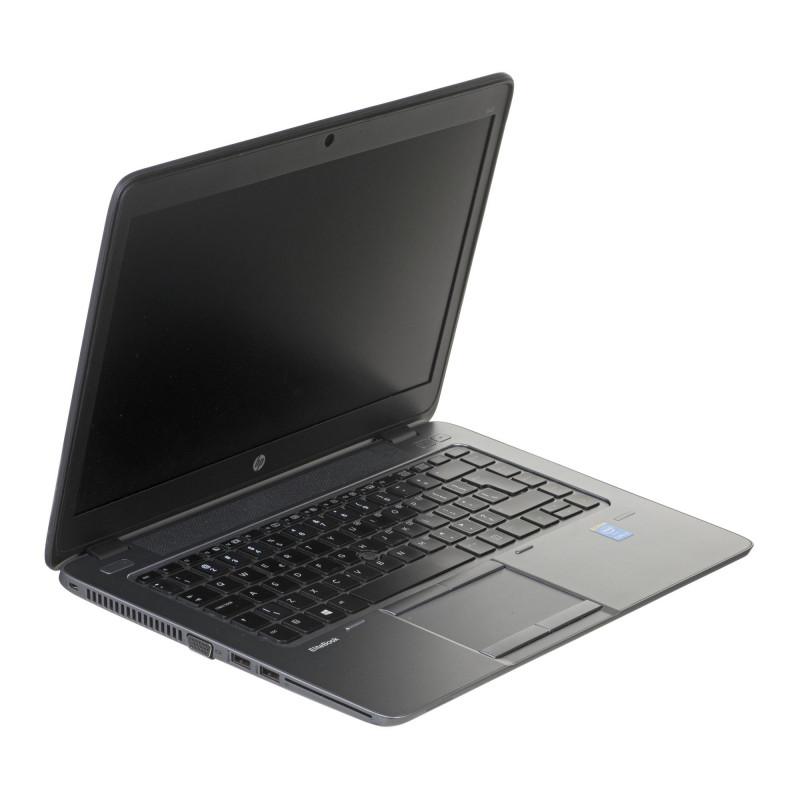 "HP EliteBook 840 G2 i5-5200U 4GB 120GB SSD 14"" HD RADEON R7 Win8pro +  zasilacz UŻYWANY"