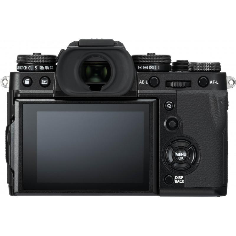 Fujifilm X-T3  + 18-55mm + 55-200mm Kit, black