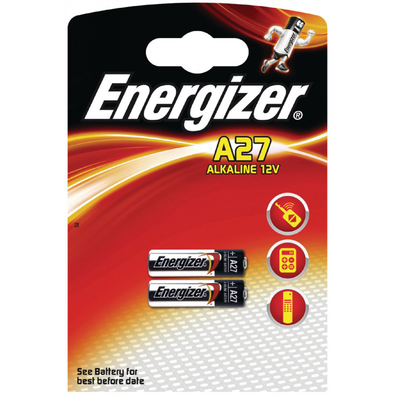 Energizer battery A27 2pcs