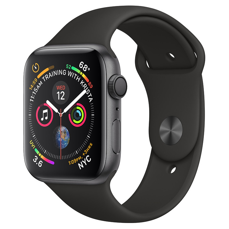 Apple Watch 4 GPS 44mm Sport Band, must