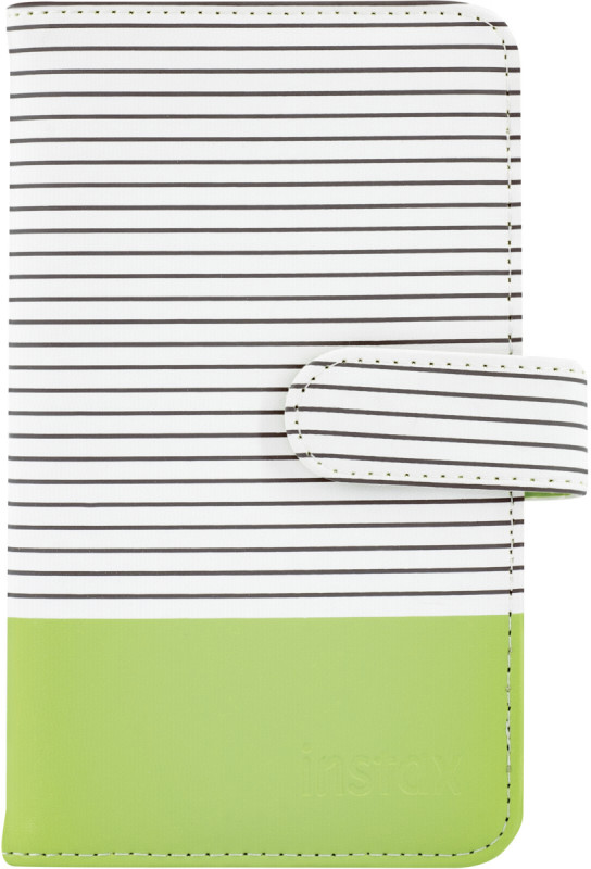 Fujifilm Instax album Striped 108, lime green