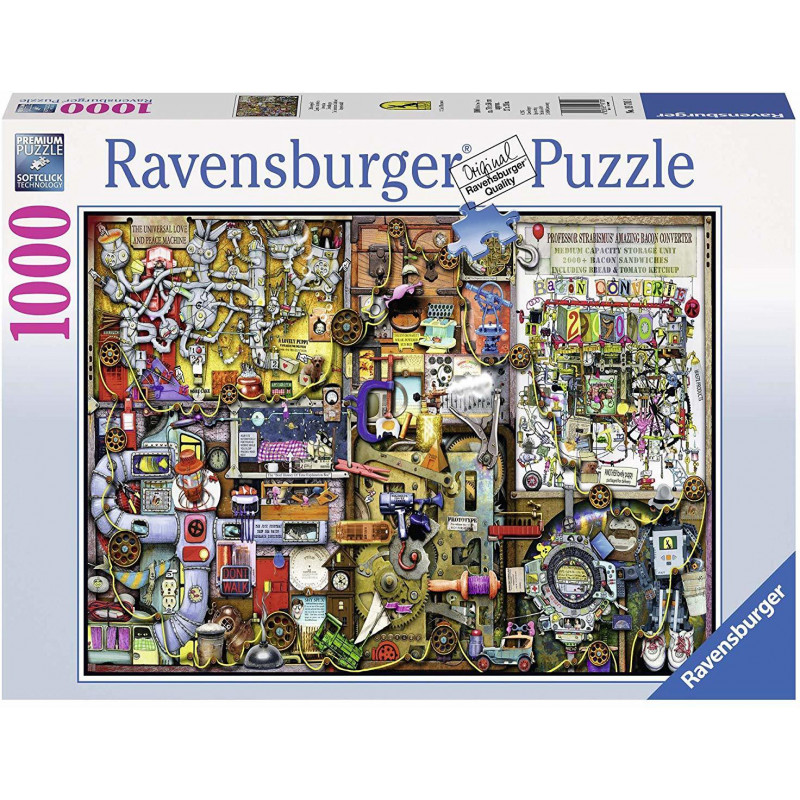 Ravensburger puzzle The Inventor's Cupboard 1000pcs