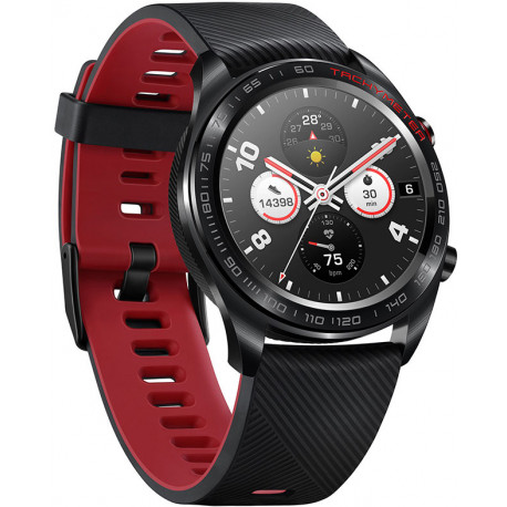 Huawei Honor Watch Magic, must/punane