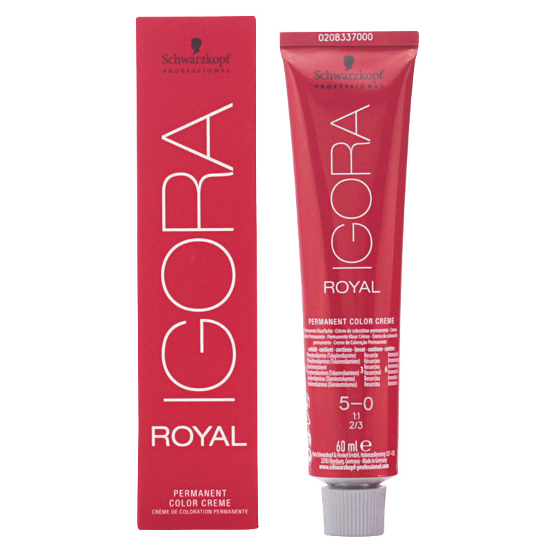 Schwarzkopf hair color Igora Royal Dye 5-0 60ml