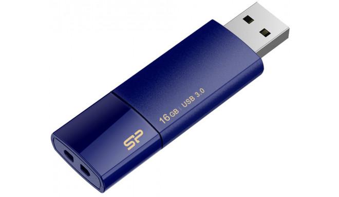 Silicon Power влешка 16GB Blaze B05 USB 3.0, тёмно-синий