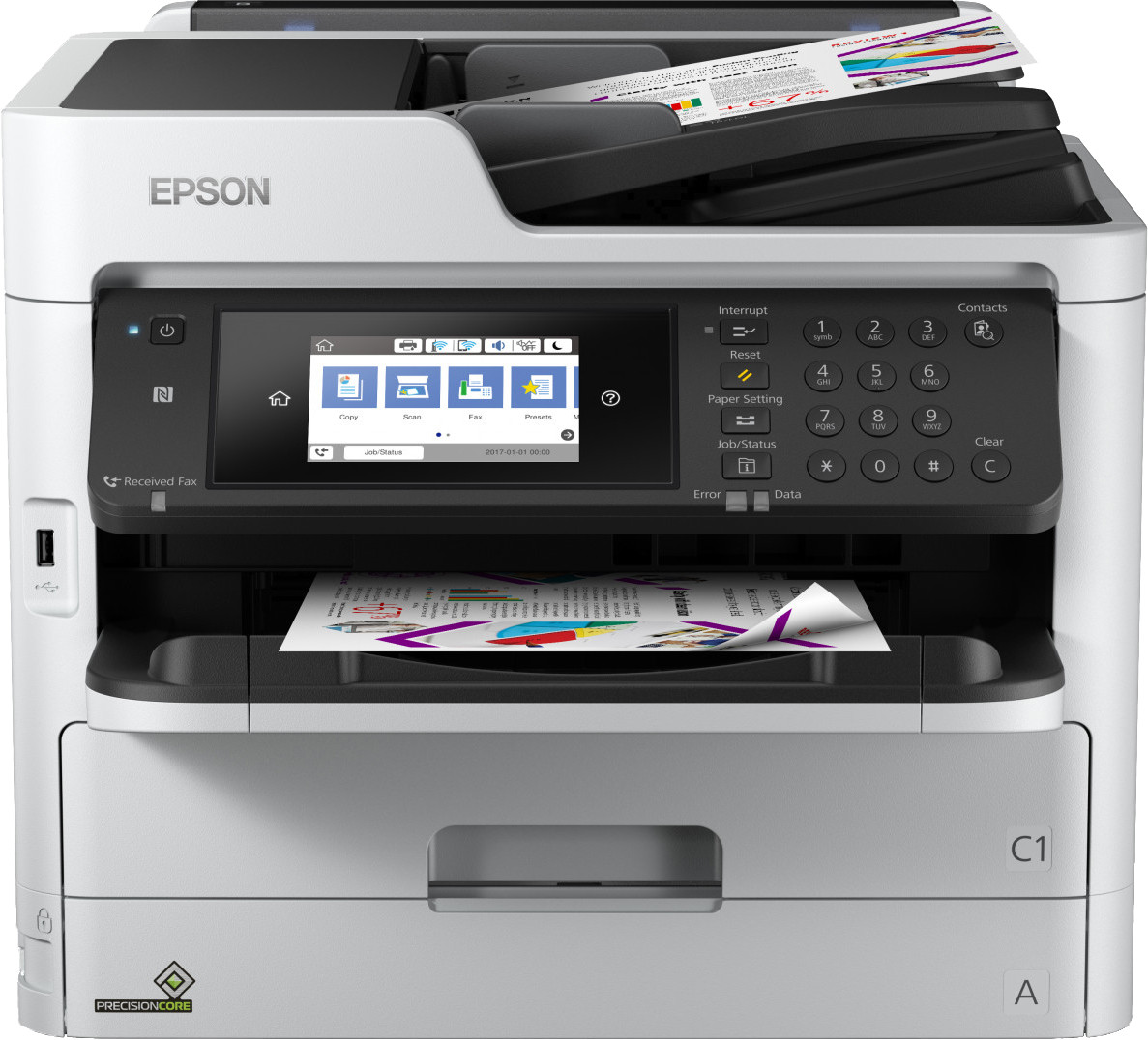 Epson tindiprinter WorkForce Pro WF-C5710DWF, hal..