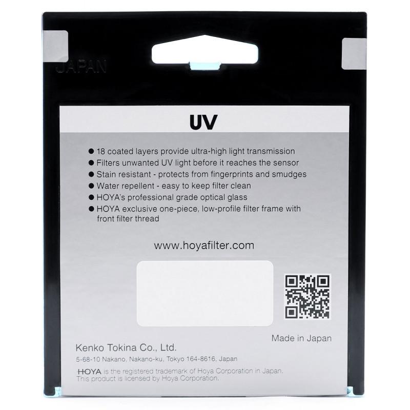 Hoya filter Fusion One UV 67mm