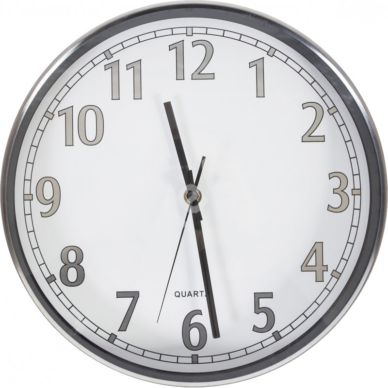 Chromo wall clock 79648, white