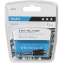 Vivanco adapter 6,3mm - RCA (46049)
