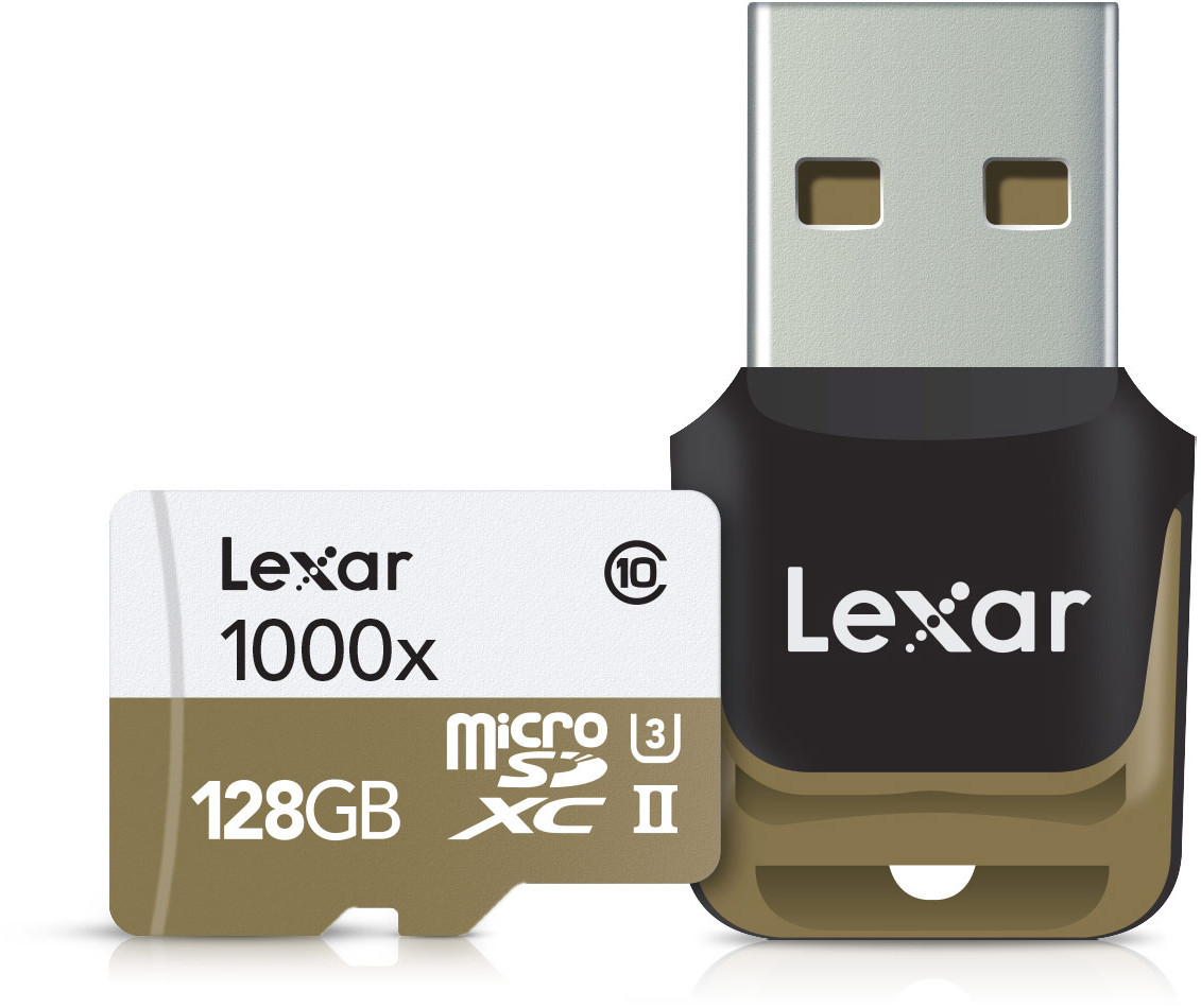 Lexar mälukaart microSDXC 128GB Pro 1000x V60 + ..