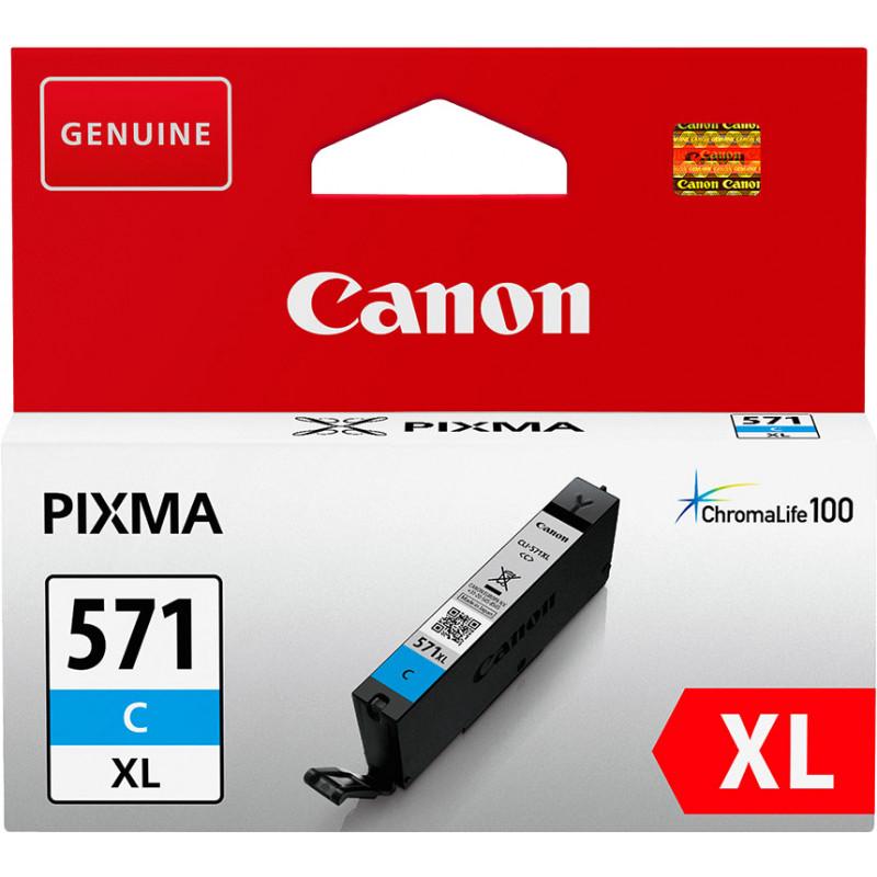 Canon ink cartridge CLI-571XL, cyan