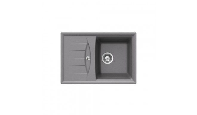 cabrera 45 b tg metalic aluminium kitchen sink cabrera 45 b tg metalic aluminium kitchen sink   sinks   photopoint  rh   photopoint ee