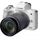 Canon EOS M50 Kit white + EF-M 18-150