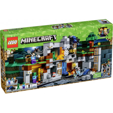 4ab51d455a6 LEGO Minecraft toy blocks The Bedrock Adventures (21147)