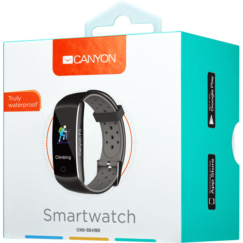 Canyon aktiivsusmonitor CNS-SB41BR, must/hall