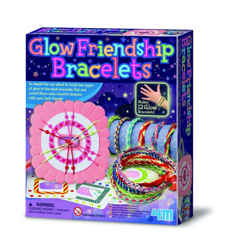 4M Sõpruse käeketid (Helendavad pimedas)