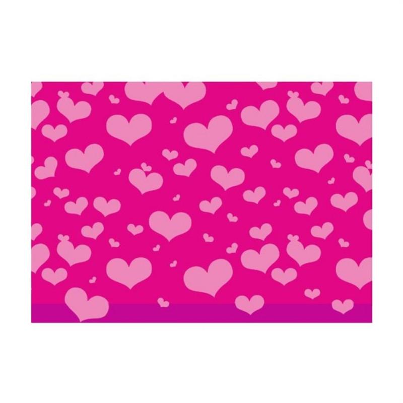 Бумага для упаковки подарков 2м x 70см Heartb