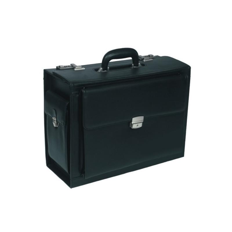 0103057c2d3 Kohver Pierre Pilot koodlukuga, must - Travel document pouches ...