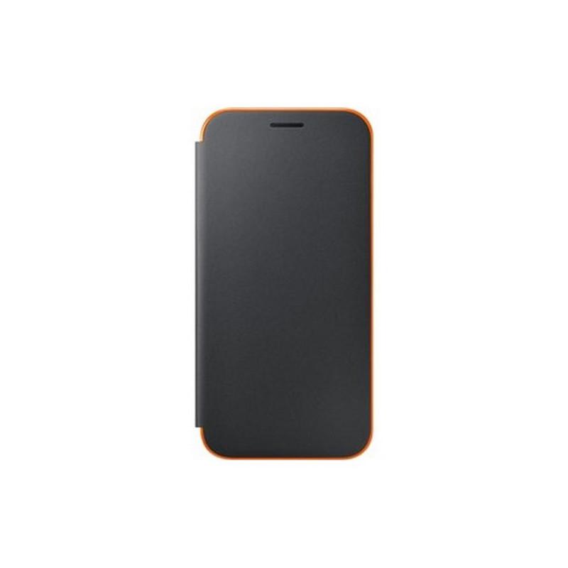 huge discount 25ee4 51ea6 Mobile Phone Case Samsung EF-FA520PBEGWW Samsung A5 2017 Neon Flip Cover  Black