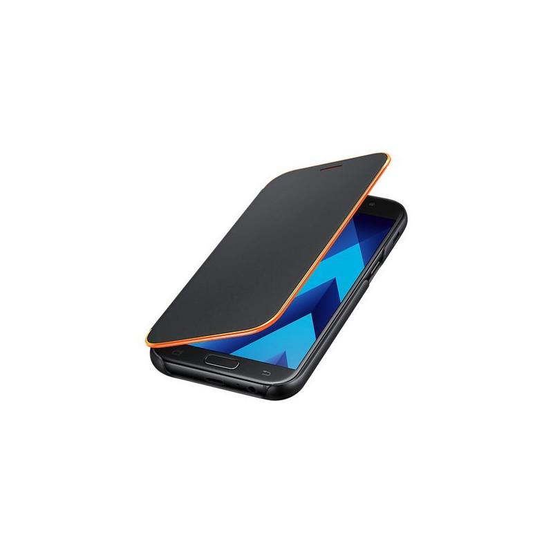 huge discount cbed7 c285d Mobile Phone Case Samsung EF-FA520PBEGWW Samsung A5 2017 Neon Flip Cover  Black