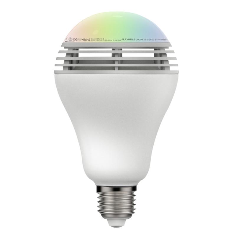 MiPow Playbulb Colour LED E27 3W (25W) Bluetooth Speaker