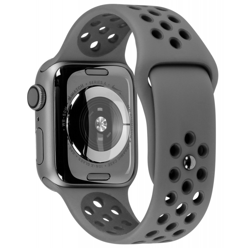 sneakers hot products outlet store sale Apple Watch Nike+ Series 4 GPS 44mm Grey Alu Nike Band