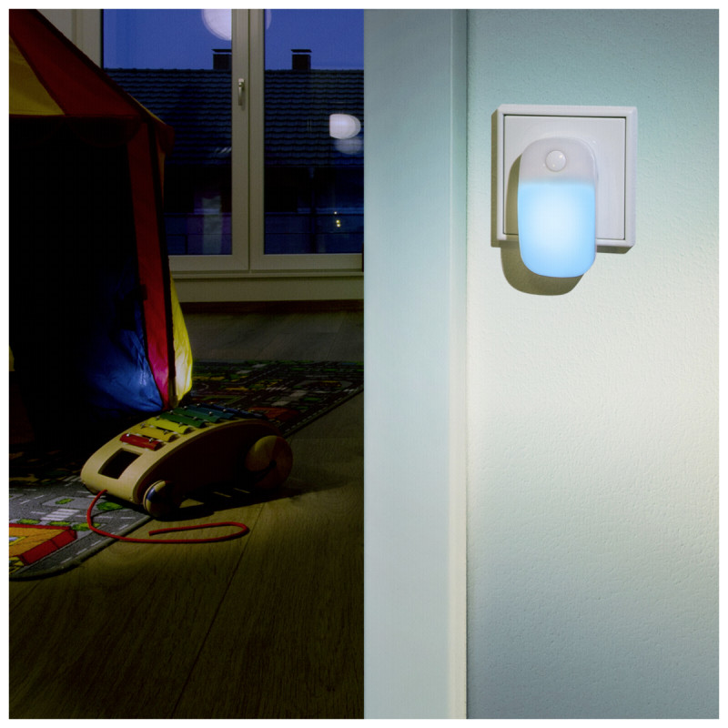 Ansmann night light LED Guide Ambiente, blue