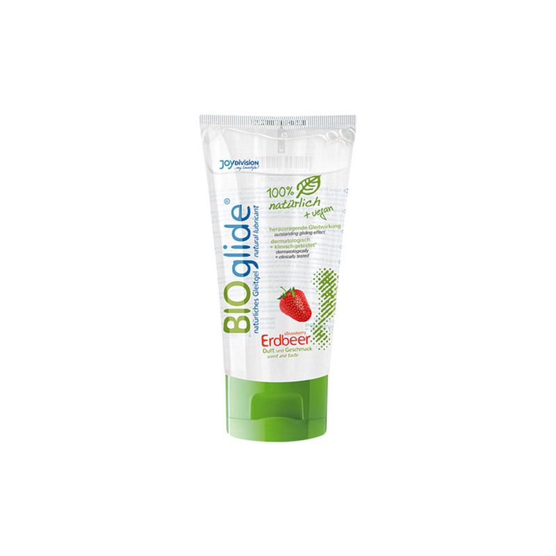 BIOglide Strawberry Lubricant - 80 ml