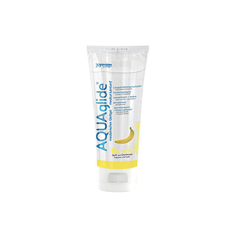 AQUAglide Banana Lubricant - 100 ml