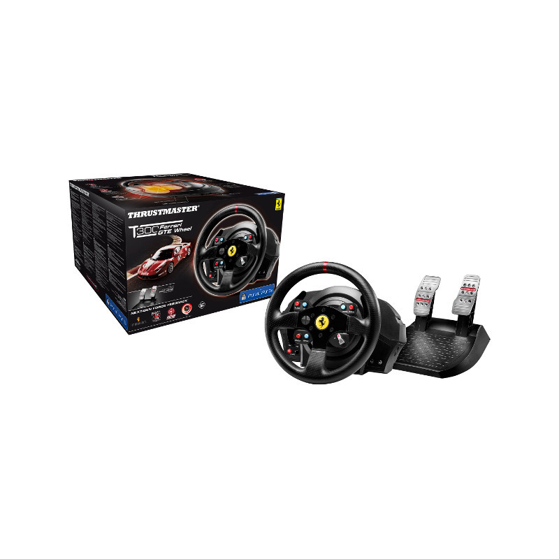 DRIVING WHEEL THRUSTMASTER T300 GTE FERRARI RACING WHEEL FOR PC/PS3/PS4