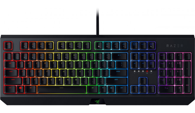 Razer klaviatūra Blackwidow 2019 NO Green Switches