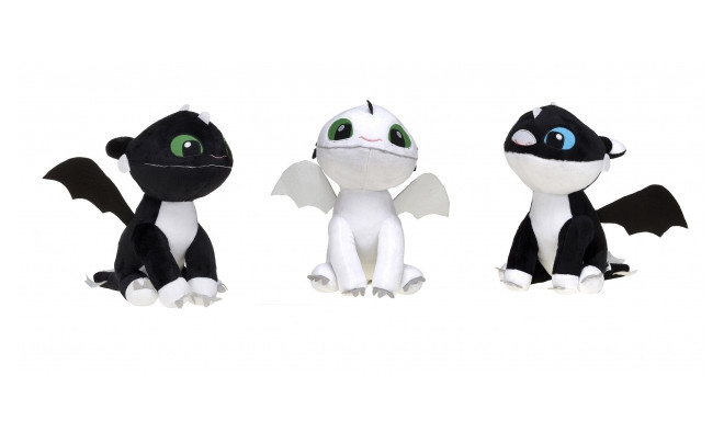 23cm Dragons 3 Baby Nightlights S/3 Gift 3 Asst - random style