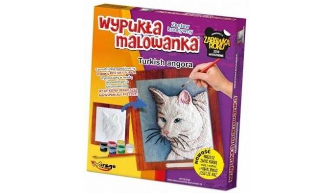 CATS – 3D PAINTING – Turkish Angora