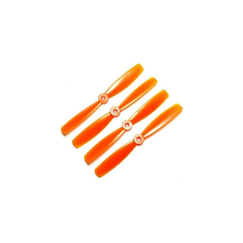 Dal Props Bullnose 6x4.5 pomarańczowe (2CW+2CCW)