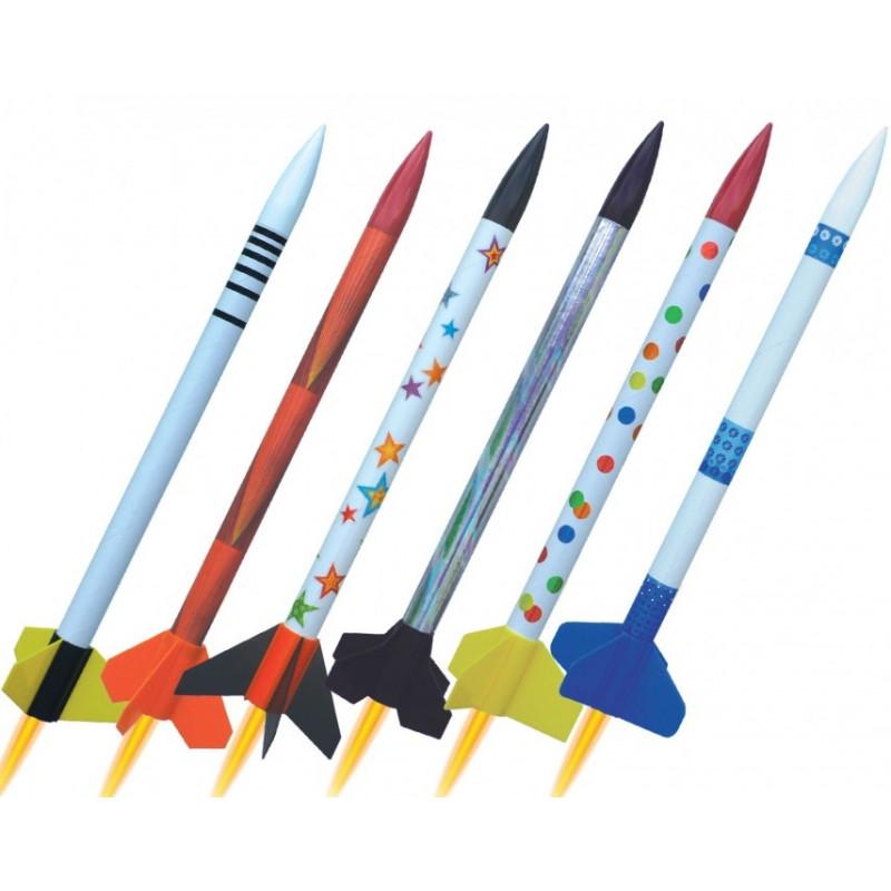 Zestaw sześciu rakiet 2501