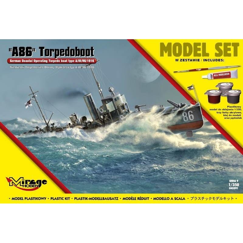 'A86' Torpedoboot Niemiecki Torpedowiec Obrony Wybrzeża typ A/III/56/1916