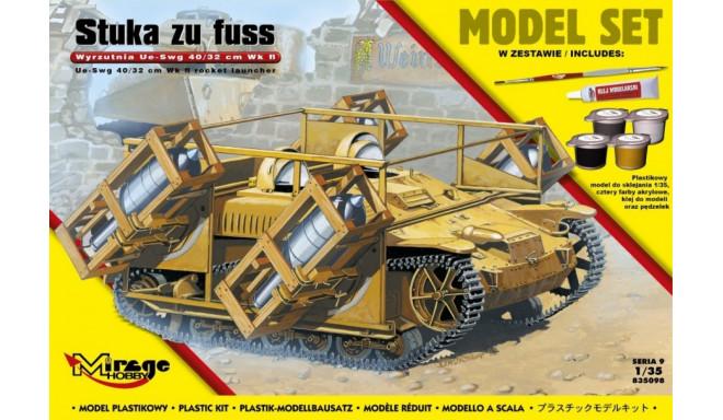 'STUKA zu FUSS' launcher UE-sWG 40/32cm Wk Fl