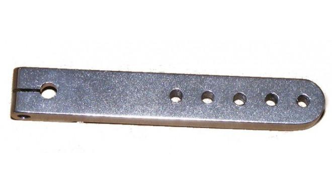 1-arm aluminium rudder for servo JR/Graupner (61mm)