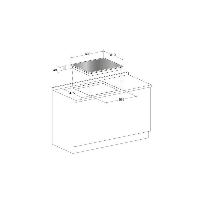 Hotpoint-Ariston gaasipliit TQG641/HA(BK)EE