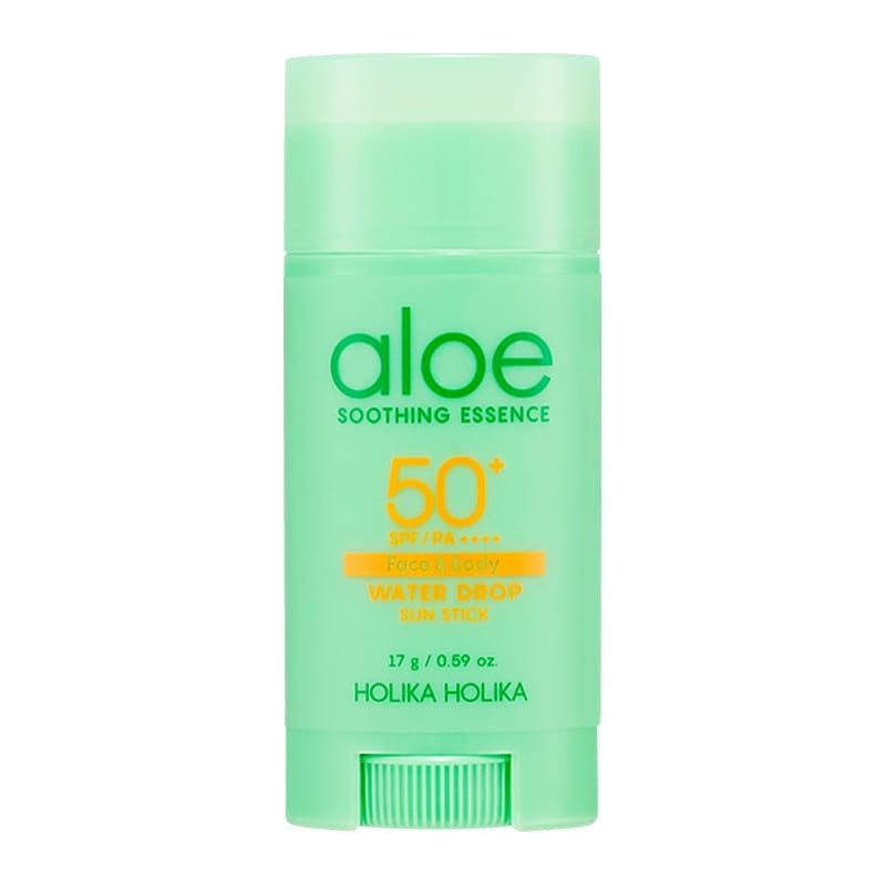 Holika Holika Päikesekaitsepulk Aloe Soothing Essence Water Drop Sun Stick SPF50+
