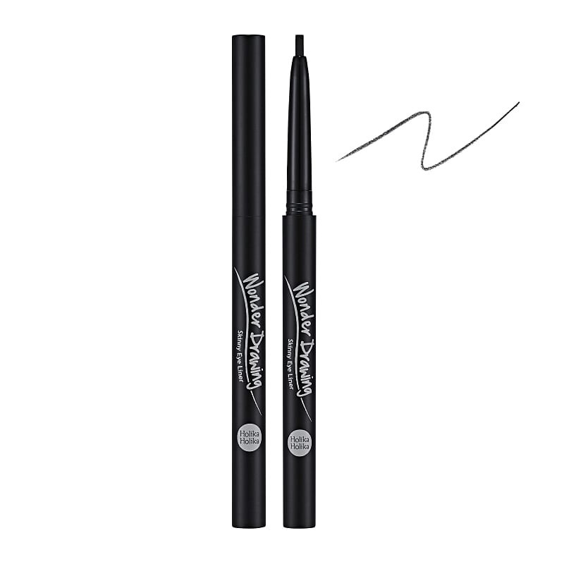 Holika Holika silmapliiats Wonder Drawing Skinny Eyeliner 01 Real Black