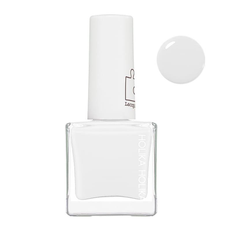 Holika Holika Piece Matching Nails Lacquer WH01 White Onepiece