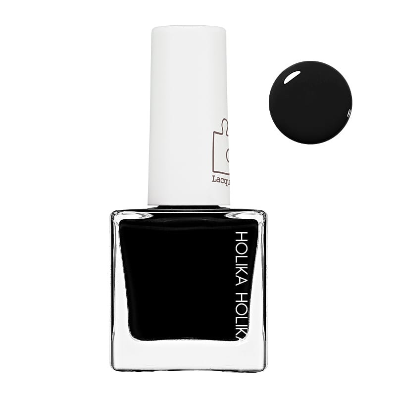 Holika Holika Piece Matching Nails Lacquer BK01 Black Swan