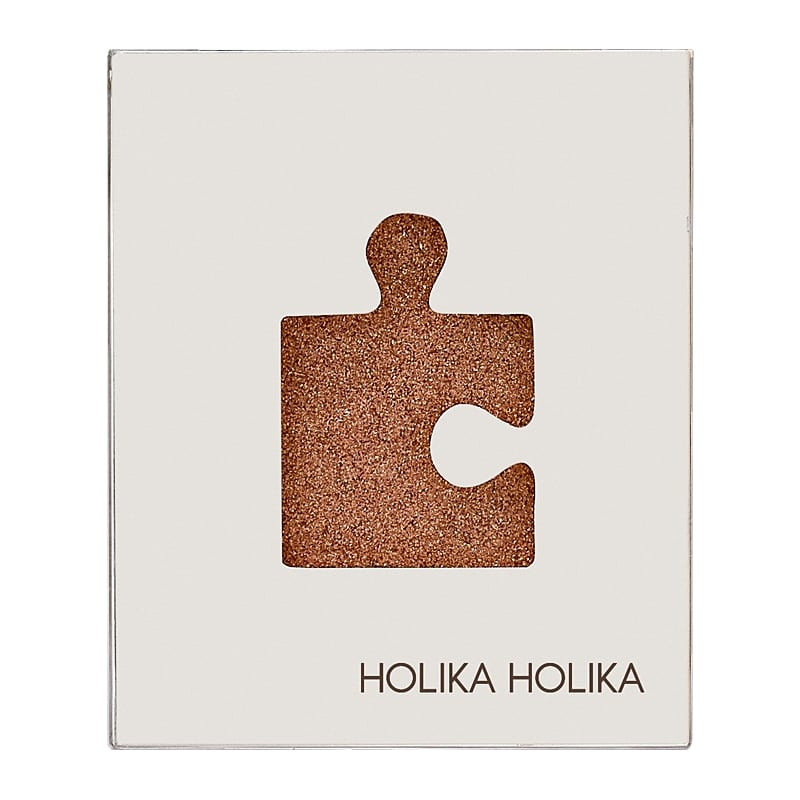 Holika Holika Piece Matching Shadow Glitter Eyes GGD01 Brown Sugar