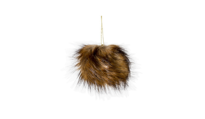 Dekoratsioon FUR GOLDBROWN, D12cm